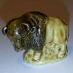 Wade whimsie BISON made in england figurine china @SOLD@